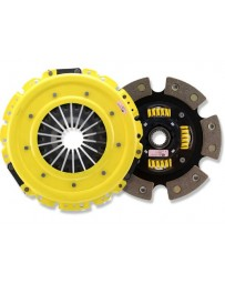 R32 ACT XT Pressure Plate with Race Sprung 6-Pad Clutch Disc