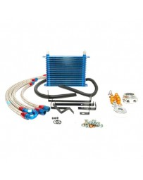 R32 Greddy Oil Cooler Kit Includes Filter Relocation Fender Placement