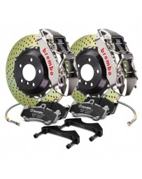 R32 Brembo GT-R Series Cross Drilled 2-Piece Rotor Front Big Brake Kit