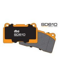 370z DBA Brake Pads 5 x 9.37 x 4.09 - 1.4
