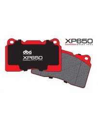 370z DBA Brake Pads - XP650 Track/Heavy Load Performance Brake Pads Thickness 0.559in