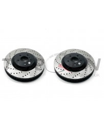 350z StopTech Discs for Brembo brakes - Front pair - DRILLED