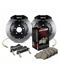 370z StopTech Rear BBK with Black ST-22 Caliper 328x28 Slotted Rotor