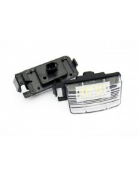 350z Nissan OEM License Plate Lamp Lens