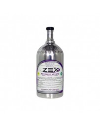 370z ZEX Nitrous Bottle 2Lb With Valve Aluminum Polished