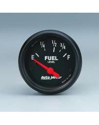 370z AutoMeter Z-Series Fuel Level Gauge - 52mm