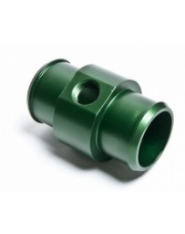 "370z Radium Engineering Hose Barb Adapter for 1 1/4"" ID Hose with 1/4 NPT Port, Green"