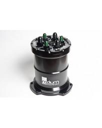 370z Radium Engineering Walbro 400 (Gas) Pump Fuel Surge Tank (Pump Not Incl)