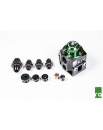 370z Radium Engineering Multi-pump Fuel Pressure Regulator, Green Top
