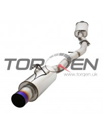 "350z AAM Competition 3"" MaxFlow Single Exhaust with Titanium Tip"