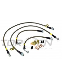370z Stoptech Stainless Steel Brake Lines Front and Rear