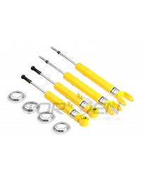 350z Koni Yellow Sport Adjustable Shock Kit, Complete F+R