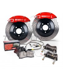 370z StopTech Front 380mm 6-Piston Big Brake Kit