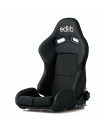 370z Bride Edirb 033 Bucket Seat, Black Protein Leather with Silver Stitch