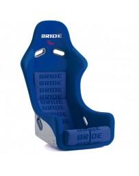 370z Bride Zieg III Bucket Seat, Blue Logo CFRP Carbon Fiber - Low Max System