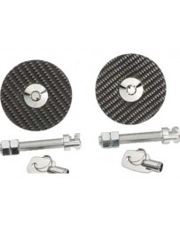 350z NRG Carbon Fiber Hood Lock Overlay Pin Universal