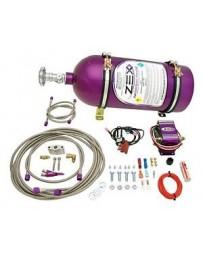 350z DE ZEX Nitrous Systems Kit Blackout, Wet, Direct Port, 10 lbs. Black Bottle
