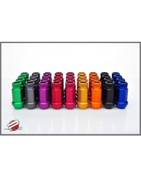 370z Password JDM Aluminum Lug Nuts Extended Open End M12x12.5 - Set of 20