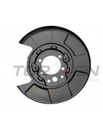 350z Nissan OEM Rear Dust Shield Brembo LH