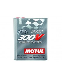 370z Motul 300V POWER RACING 5W30 Synthetic Ester Racing Oil - 2 Liters