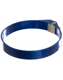 "370z P2M Aluminum 2.25"" Hose Clamp, Blue"