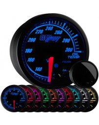 350z GlowShift Elite 10 Color Oil Temperature Gauge