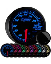 350z GlowShift Elite 10 Color Transmission Temperature Gauge