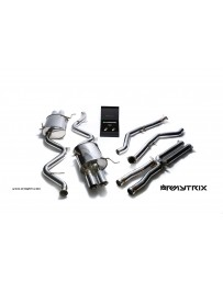 ARMYTRIX Stainless Steel Valvetronic Catback Exhaust System Quad Chrome Silver Tips BMW M3 E90 E92 08-13