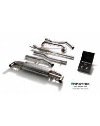 ARMYTRIX Stainless Steel Valvetronic Catback Exhaust System Mercedes-Benz A45 AMG W176 13-18