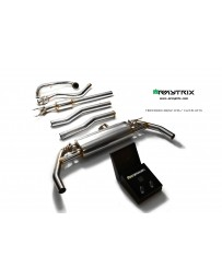 ARMYTRIX Stainless Steel Valvetronic Catback Exhaust System Mercedes-Benz CLA45 AMG C117 14-18