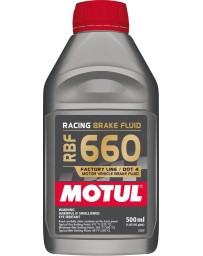 370z Motul RBF 660 Racing Brake Fluid, DOT 4