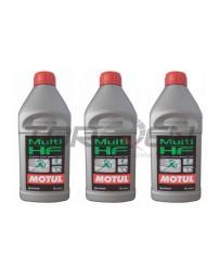 370z Motul Hydraulic Fluid - 1 Liter - 3 Pack