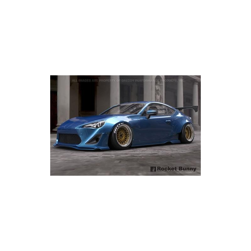 Toyota Gt86 Greddy X Rocket Bunny Front Over Fenders Only 45mm Torqen