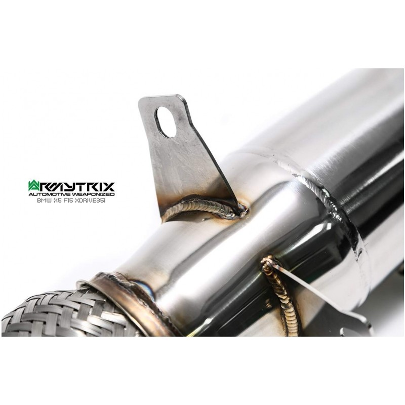ARMYTRIX Stainless Steel Valvetronic Catback Exhaust System Quad