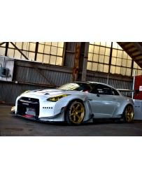 "Nissan GT-R R35 Greddy Rocket Bunny ""Full Metal Jacket"" Body Kit"