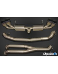 Nissan GT-R R35 Greddy Supreme Titanium Exhaust 94mm