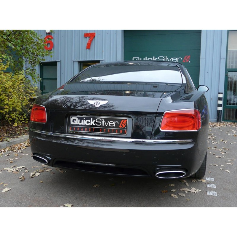 Bentley Flying Spur W12: QuickSilver Exhausts Flying Spur W12 And V8 Sport Exhaust