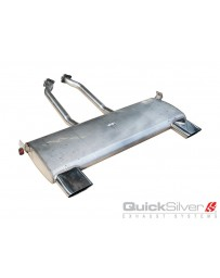 QuickSilver Exhausts BMW Z1 Stainless Steel Exhaust (1987-91) Sport System (Double Tip)