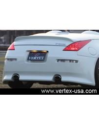 350z Vertex Roadster Rear Bumper
