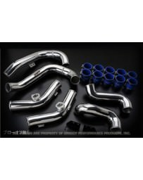 Nissan GT-R R35 Greddy Aluminium Piping Kit Factory Intake without BOV's