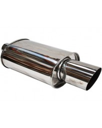 R34 Tanabe Hyper Tuner Medallion Universal Oval Muffler 100mm