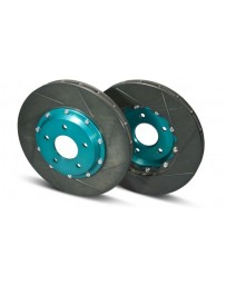 R34 Project Mu SCR-PRO 2-Piece Slotted Rotor Set, Rear 322x22mm, with Brembo Calipers