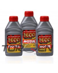 R34 Motul RBF 600 Racing Brake Fluid DOT 4, 3-Pack