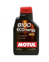350z Motul 8100 5W30 ECO-NERGY Synthetic Engine Oil - 1 Liter