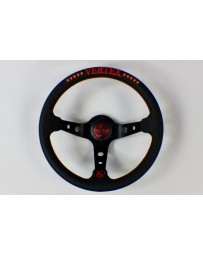 370z Vertex 10 Star 330mm Steering Wheel Red