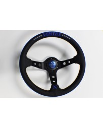 370z Vertex 10 Star 330mm Steering Wheel Blue