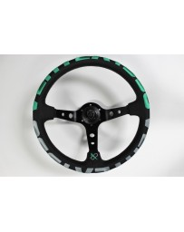 370z VERTEX 1996 STEERING WHEEL GREEN