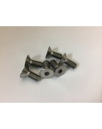 350z Vertex Titanium Steering Wheel Bolts (Silver)