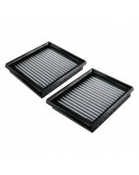 350z HR aFe Magnum Flow Pro Dry S Panel Gray Air Filter