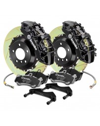 R34 Brembo GT Series Slotted 2-Piece Rotor Front Big Brake Kit